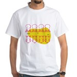 S&O Up/Down Red/Yellow White T-Shirt