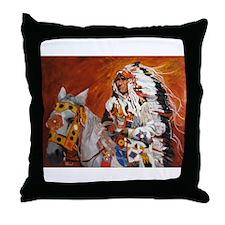 Unique Regalia Throw Pillow