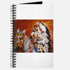 Unique Native american horse Journal