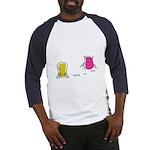 S&O Yellow/Pink Baseball Jersey