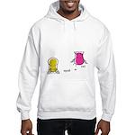 S&O Yellow/Pink Hooded Sweatshirt