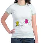 S&O Yellow/Pink Jr. Ringer T-Shirt