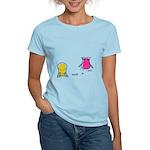 S&O Yellow/Pink Women's Light T-Shirt