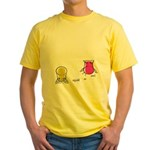 S&O Yellow/Pink Yellow T-Shirt