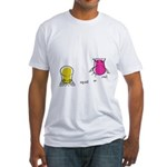 S&O Yellow/Pink Fitted T-Shirt