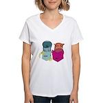 S&O Reading Women's V-Neck T-Shirt