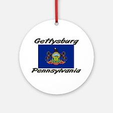 Gettysburg Pennsylvania Ornament (Round)