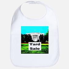 White House Yard Sale Bib