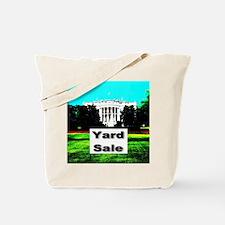 White House Yard Sale Tote Bag