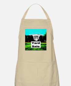 White House Yard Sale BBQ Apron