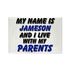 my name is jameson and I live with my parents Rect