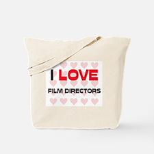 I LOVE FILM DIRECTORS Tote Bag