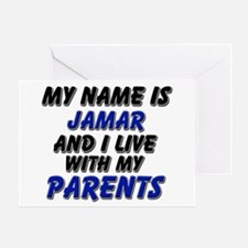 my name is jamar and I live with my parents Greeti