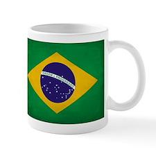 Brazil Flag Full Size Mugs