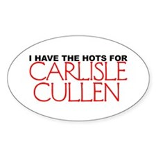 I Have The Hots For Carlisle Oval Decal
