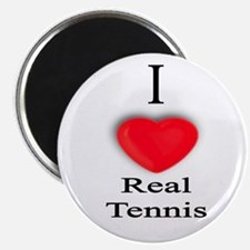 "Real Tennis 2.25"" Magnet (10 pack)"
