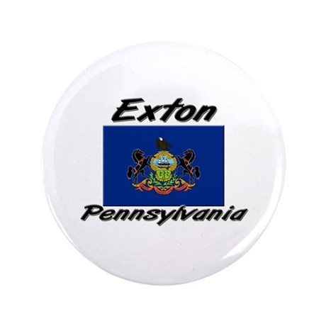 "Exton Pennsylvania 3.5"" Button"