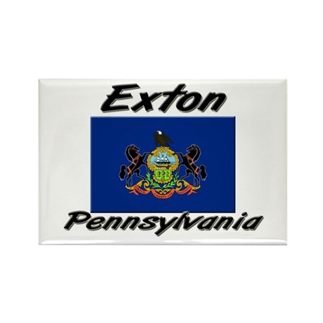 Exton Pennsylvania Rectangle Magnet (10 pack)