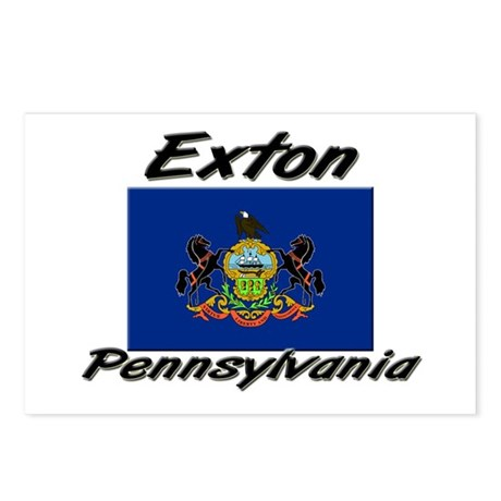 Exton Pennsylvania Postcards (Package of 8)