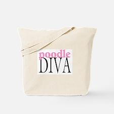 Poodle Diva Tote Bag