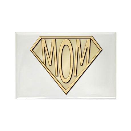 Super Mom Rectangle Magnet (10 pack)