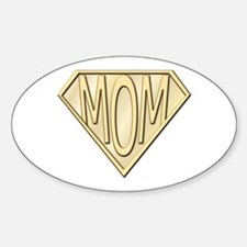 Super Mom Oval Decal