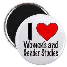 Cool Women's and gender studies feminism Magnet