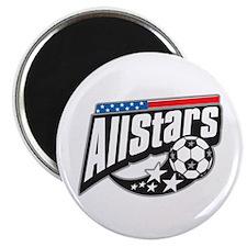 """Soccer All Stars 2.25"""" Magnet (100 pack)"""