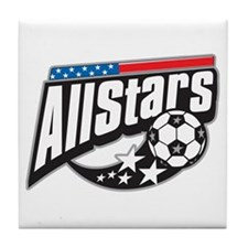 Soccer All Stars Tile Coaster