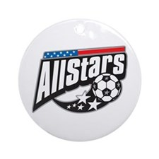Soccer All Stars Ornament (Round)