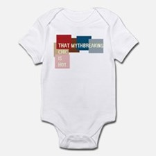 That mythbreaking chic is hot Infant Bodysuit