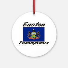 Easton Pennsylvania Ornament (Round)