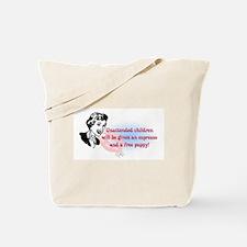 Sarcastic Children Quote Tote Bag