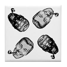 """Bob""-Anti""Bob"" Tile Coaster"