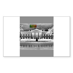 THE BLACK HOUSE Rectangle Decal