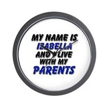 my name is izabella and I live with my parents Wal