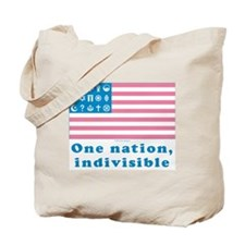 URA Flag #1 Tote Bag