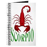 Scorpio Journals & Spiral Notebooks