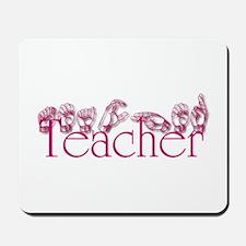 Teacher-pnk Mousepad