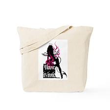 Fire Demon Angel Tote Bag