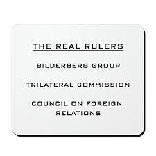 Bilderberg Mousepad