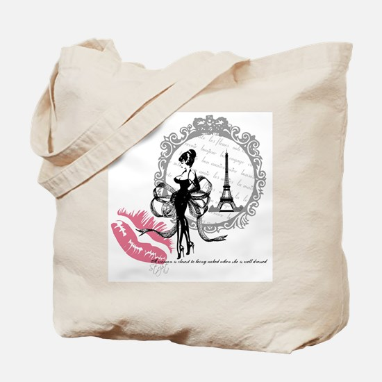 Paris Couture Tote Bag