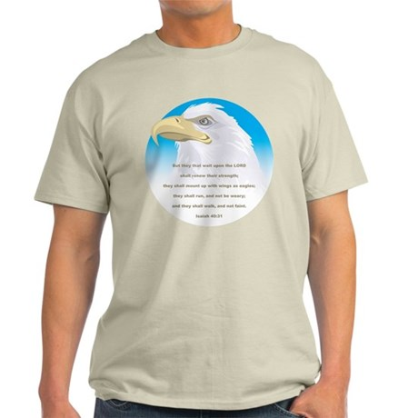 Isaiah 40:31 Eagle Light T-Shirt