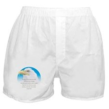 Isaiah 40:31 Eagle Boxer Shorts