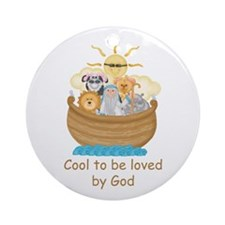 Cool Noah's Ark Ornament (Round)