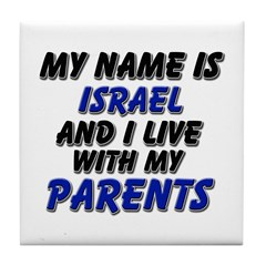 my name is israel and I live with my parents Tile
