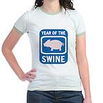 Year of the Swine Jr. Ringer T-Shirt