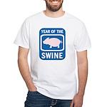 Year of the Swine White T-Shirt