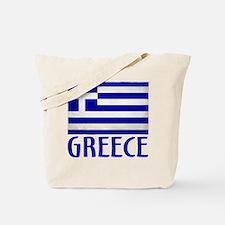 Cute Greece Tote Bag