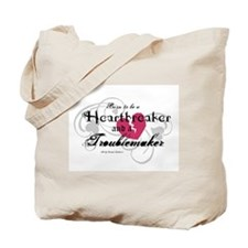 Heart Breaker & Troublemaker Tote Bag